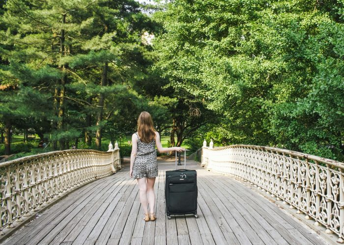 Sustainable luggage for green travel