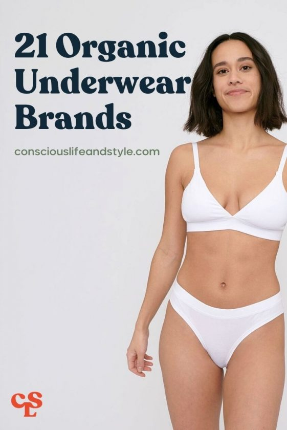 21 Organic Underwear Brands - Conscious Life & Style