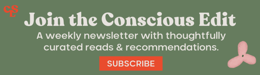 The Conscious Edit Subscription Banner_Green