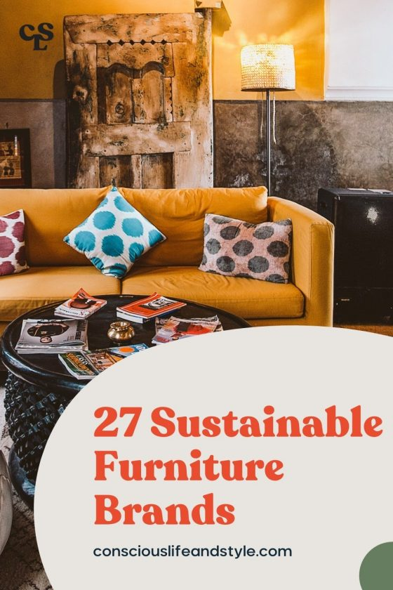 27 Sustainable furniture brands - Conscious Life and Style