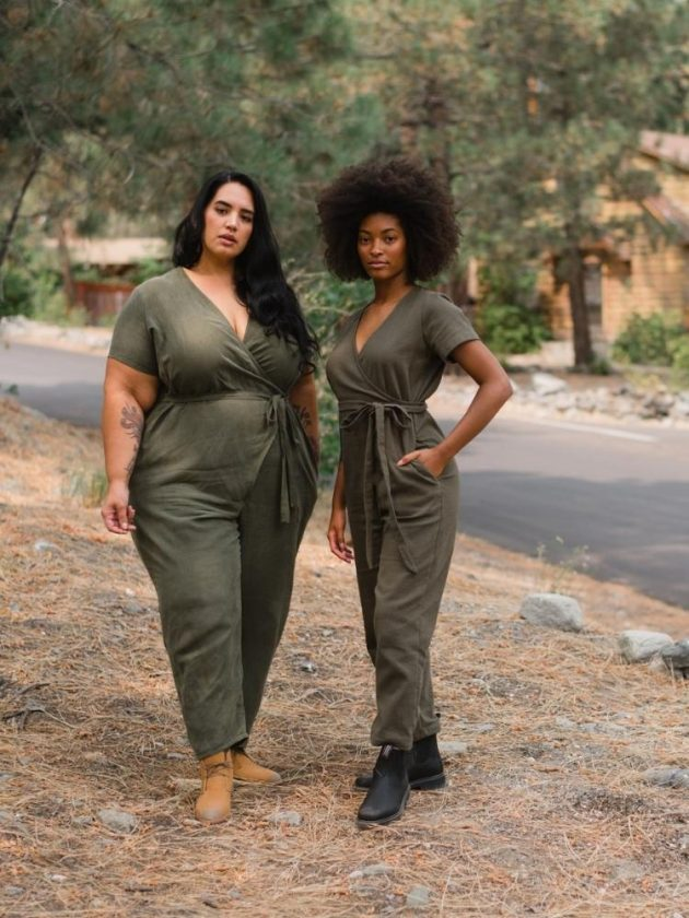 Eco-Friendly Green Jumpsuits from Sotela