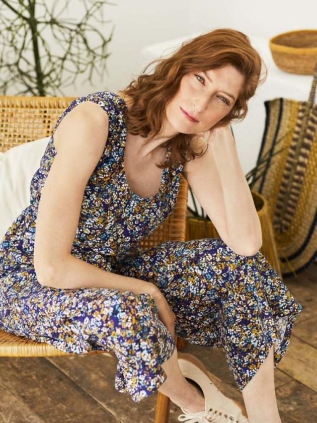Eco flowery jumpsuit from Thought