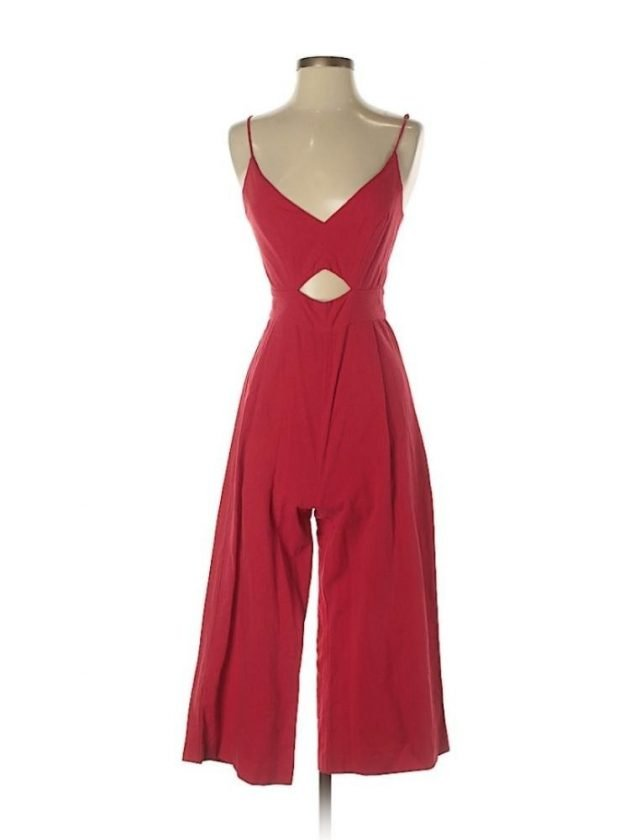 Eco Red Jumpsuit from Thred Up