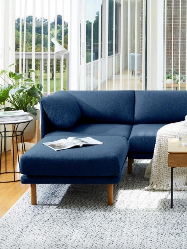 Eco-friendly sofa from Burrow