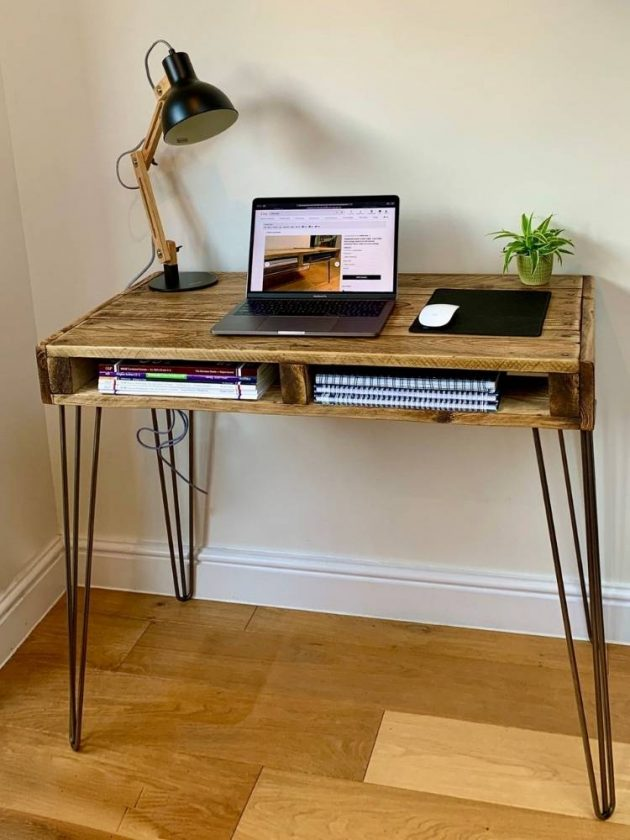 Eco-friendly desk from Etsy Reclaimed