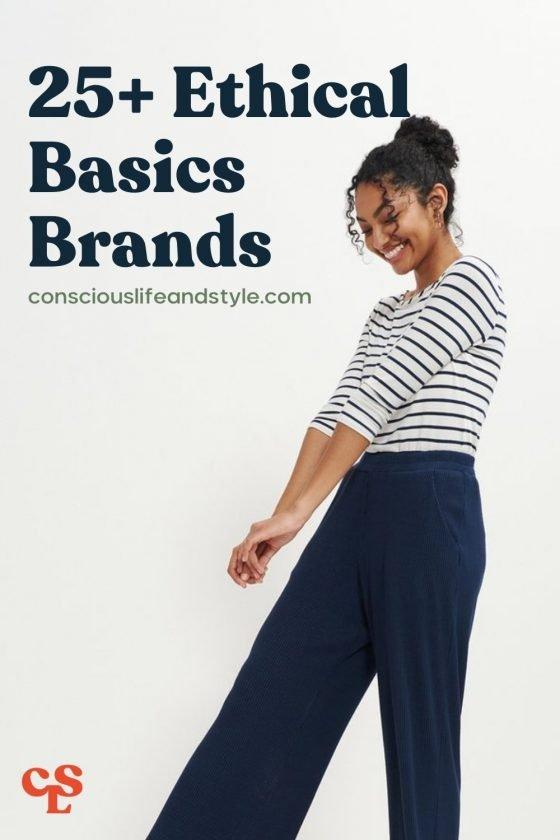 25+ Ethical basics brands - Conscious Life & Style