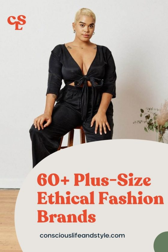 60+ Plus-size ethical fashion brands - Conscious Life & Style