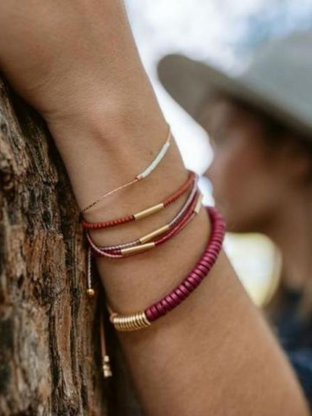 Colourful fair trade bracelets from Son of a Sailor