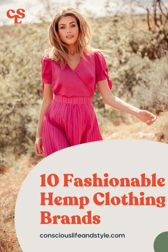 10 Fashionable Hemp Clothing Brands - Conscious Life and Style