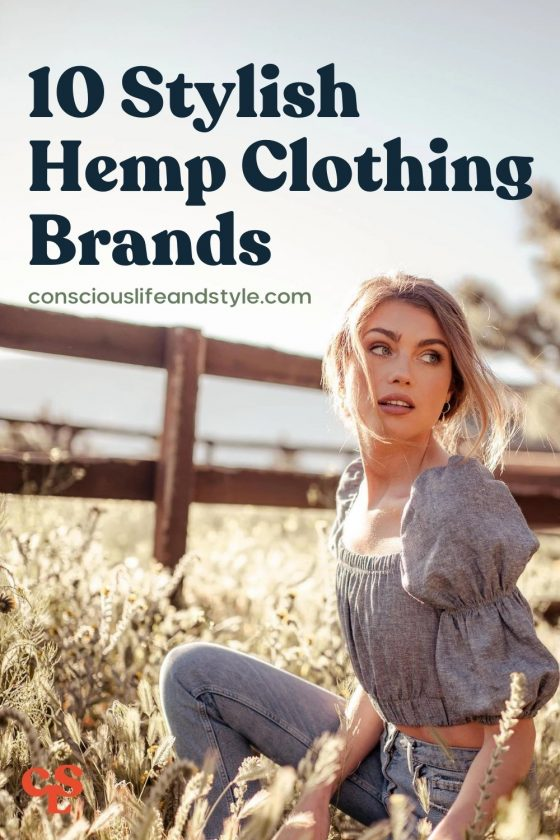 10 Stylish Hemp Clothing Brands - Conscious Life and Style