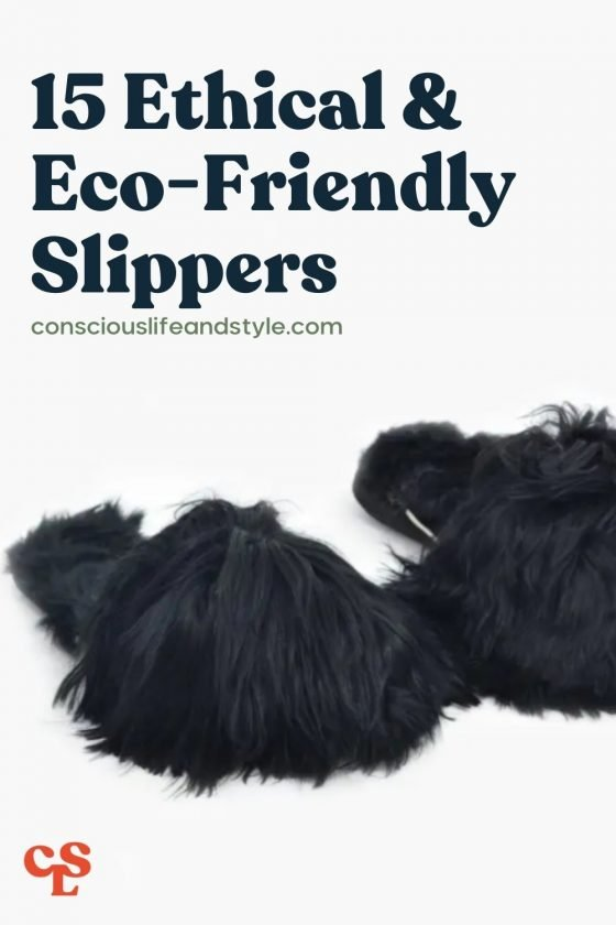 15 Ethical & Eco-Friendly Slippers - Conscious Life and Style