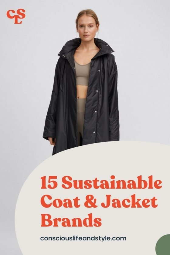 15 Sustainable coat & jacket brands - Conscious Life & Style