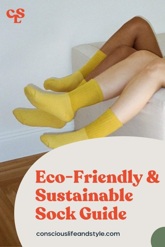 Eco-friendly & sustainable sock guide - Conscious Life & Style
