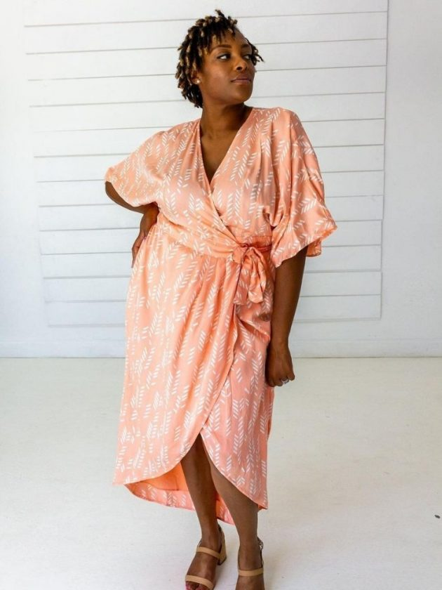 Handmade and sustainable dress from Symbology