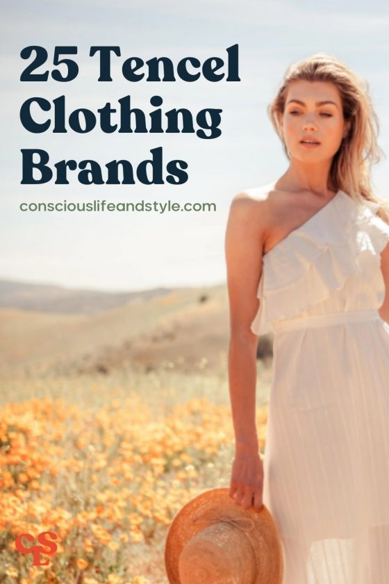25 Tencel Clothing Brands - Conscious Life and Style