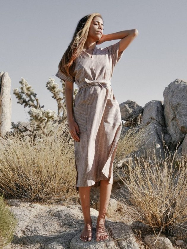 Sustainable dress from Two Days Off