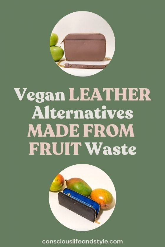 Vegan Leather Alternatives Made from Fruit Waste - Conscious Life and Style