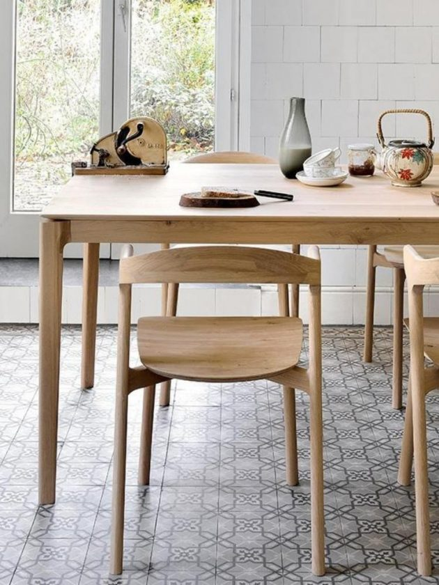Ethical table from Viesso