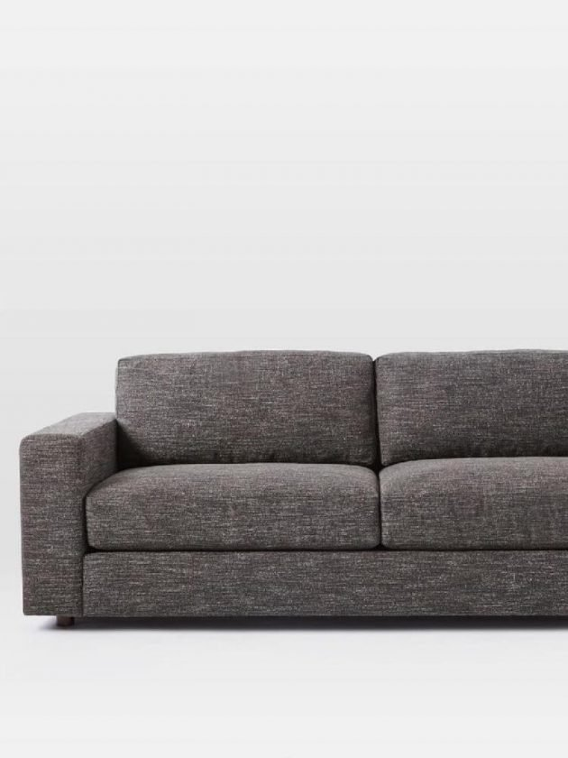 Eco-friendly sofa from West Elm - Sustainably sourced collection