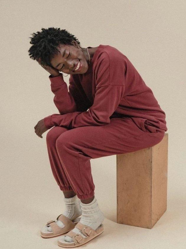 Sustainable sweatshirts and sweatpants from Poplinen