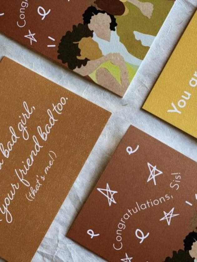 Eco-friendly recycled cards from Aya Paper Co.