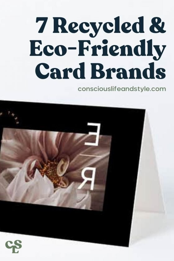 7 Recycled & Eco-Friendly Card Brands - Conscious Life and Style