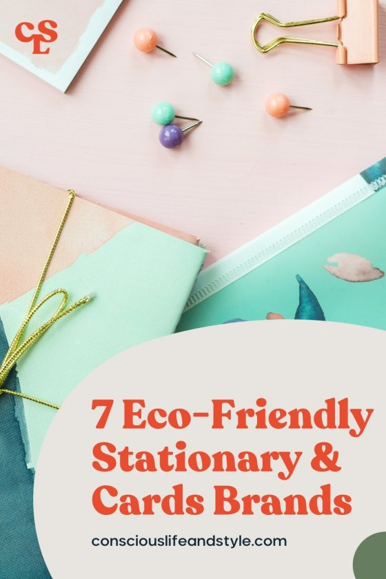 7 Eco-Friendly Stationary & Cards Brands - Conscious Life and Style