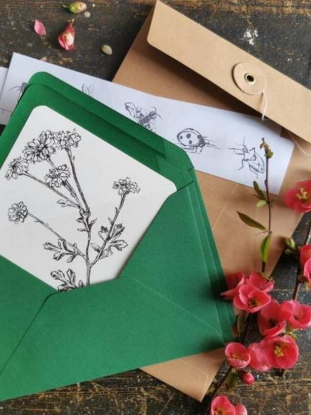 Eco-friendly cards and stationary from Alana Woodward Art