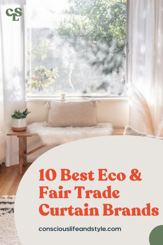 10 Best Eco & Fair Trade Curtain Brands - Conscious Life and Style