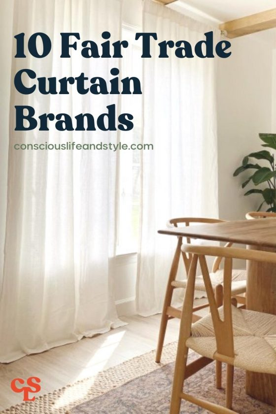 10 Fair Trade Curtain Brands - Conscious Life and Style