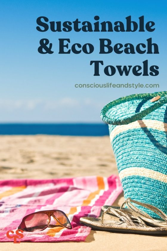 Sustainable & Eco Beach Towels - Conscious Life and Style