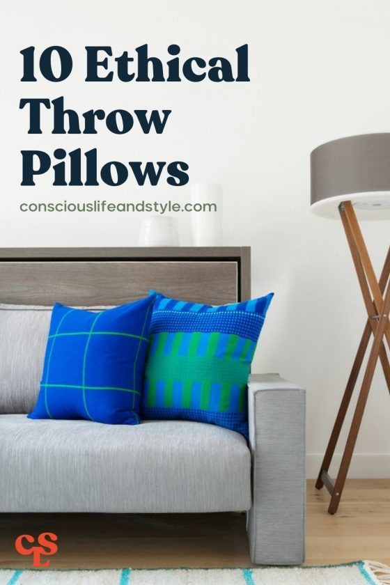 10 Ethical Throw Pillows - Conscious Life and Style
