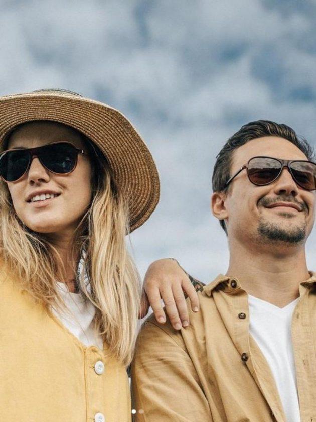 Dark Sustainable Sunglasses from Sunski