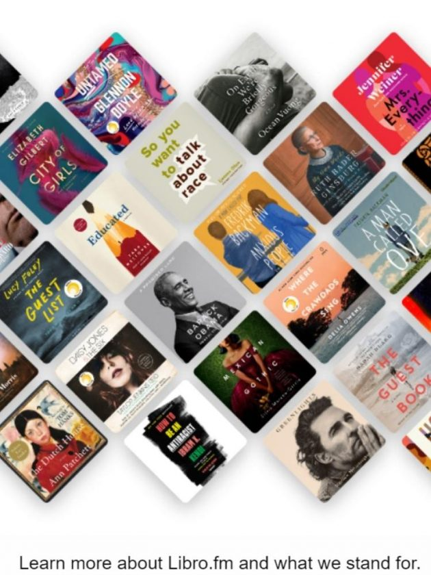 Sustainable audiobook alternatives from Libro.fm