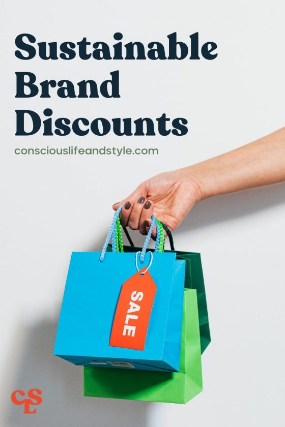 Sustainable Brand Discounts - Conscious Life and Style