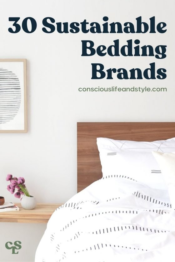 30 Sustainable Bedding Brands - Conscious Life and Style