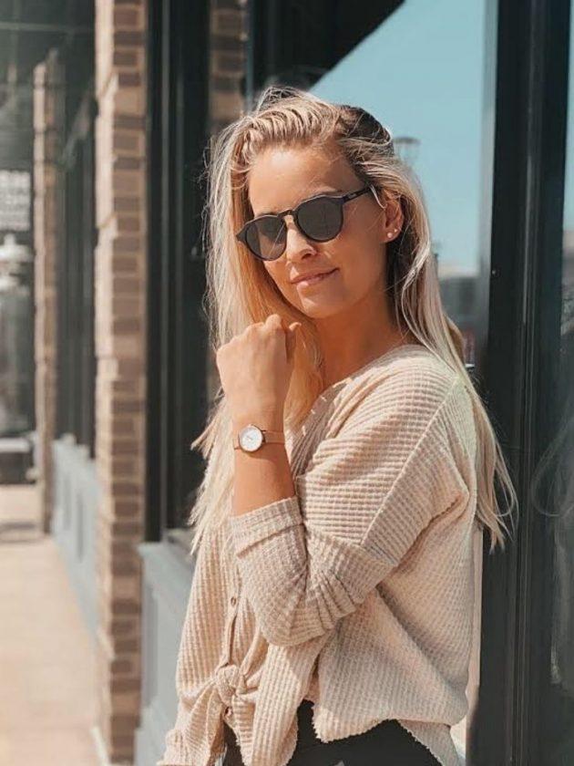 Dark Sustainable Sunglasses from Ozeano