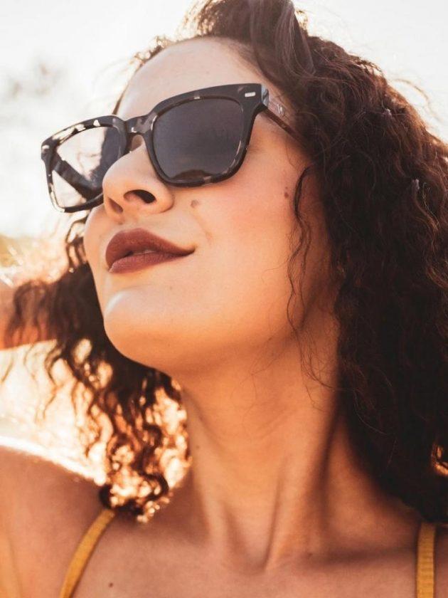 Black Eco-friendly Sunglasses from Woodze