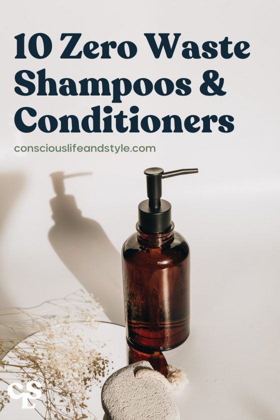 10 Zero waste Shampoos & Conditioners - Conscious Life and Style