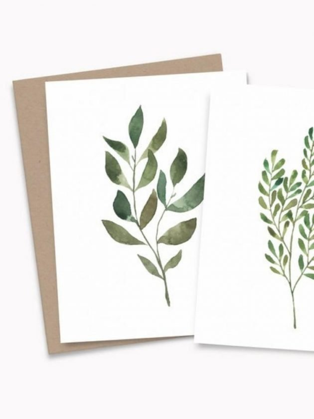 Sustainable recycled card from Paper Rose Studio