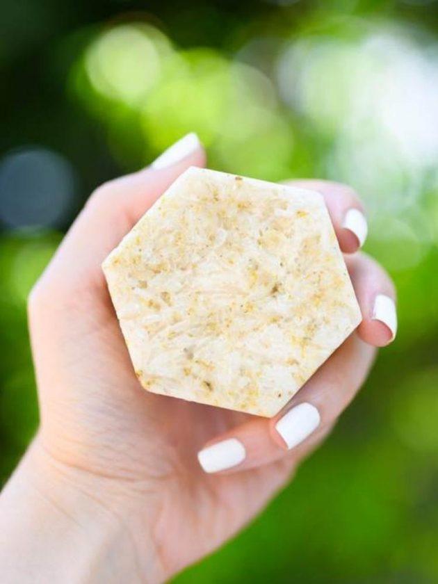 Plant-based zero waste soap from Corvus Botanicals