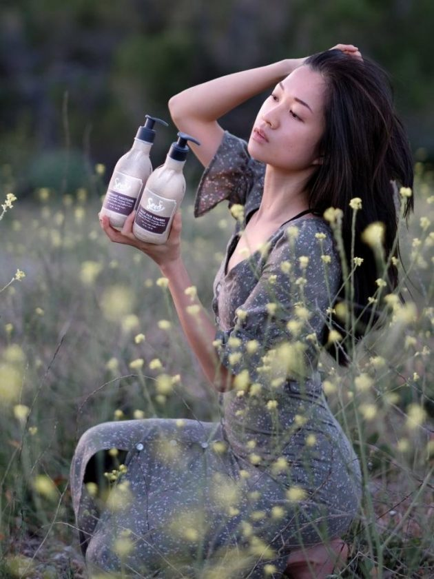 Zero waste hair care products from Seed Phytonutrients