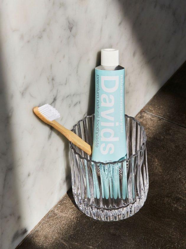 David's Plastic-Free Toothpaste