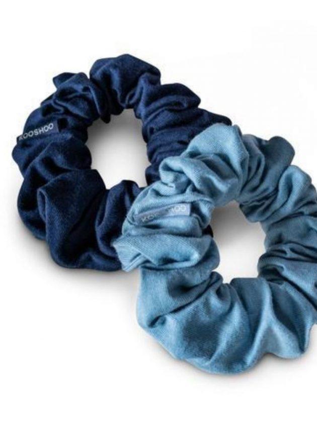 Plastic free and zero waste scrunchies from Kooshoo's