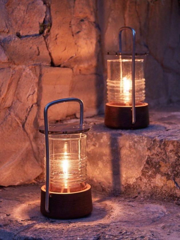 Sustainable oil lamps from GOODEE