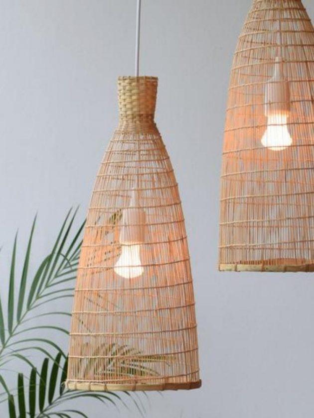 Sustainable handmade bamboo lightening from Lanna Passa