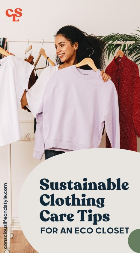 Sustainable Clothing Care Tips for an Eco Closet - Conscious Life and Style