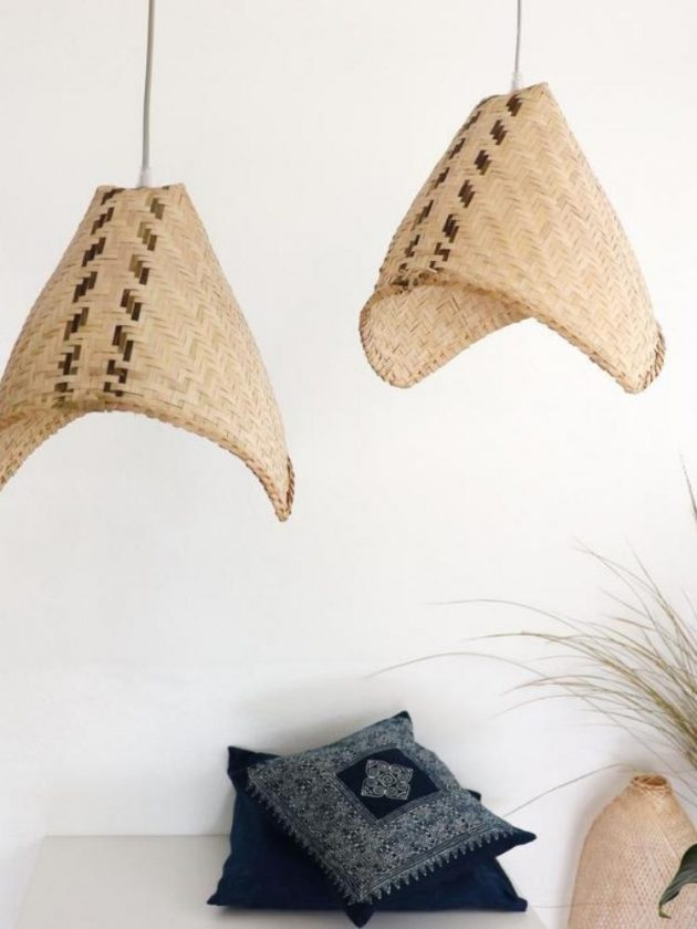 Eco-friendly bamboo lighting from Thai Home Shop