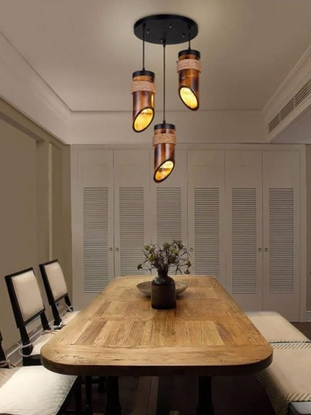 Eco-friendly bamboo home lightening from Vietmade Home Lighting