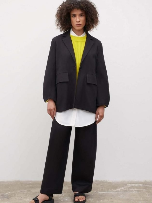 Sustainable workwear outfit from Kowtow